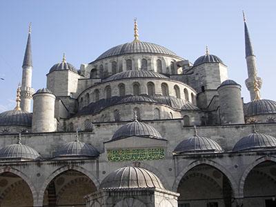 Istanbul la Moschea Blu
