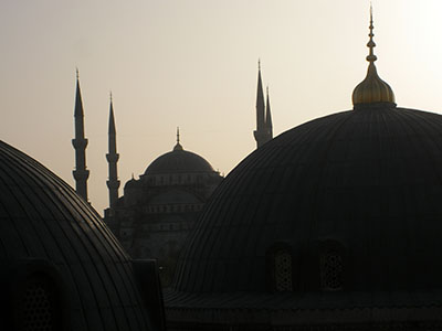 tur istanbul moschea blu rid