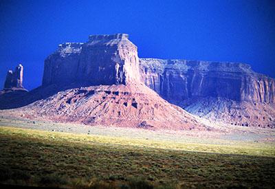 La celeberrima Monument Valley dei films di John Ford