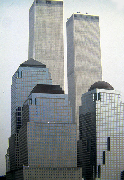 Le 'fu' Twin Towers a New York