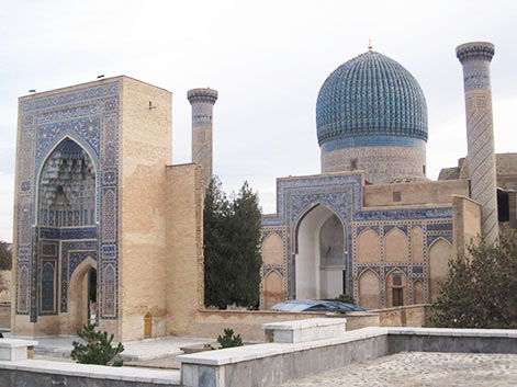 Samarcanda, mausoleo di Tamerlano