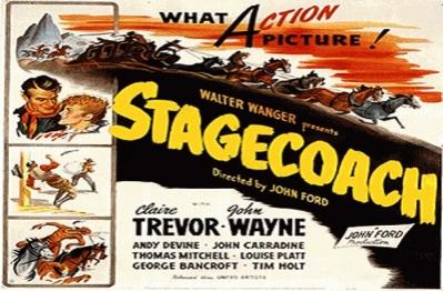 varie - cinema cartel Stagecoach