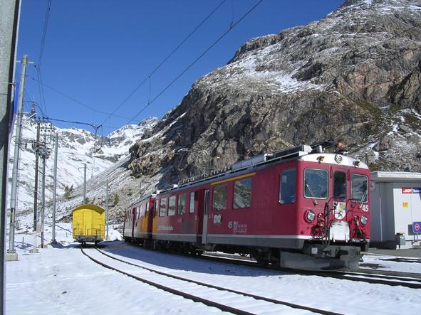 La (ardita) ferrovia del Bernina