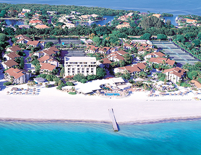Un resort di tennis (The Colony a Longboat Key, Florida)