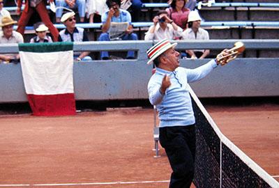 varie - tennis cile italia 76 ultras cileno