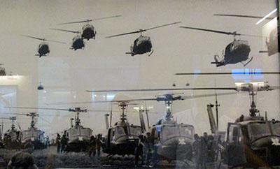 Museo Guerra Vietnam, roba da Apocalypse Now...