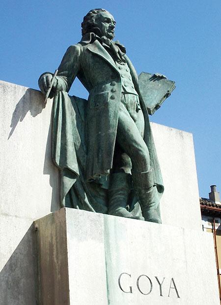 zaragoza monumento Goya